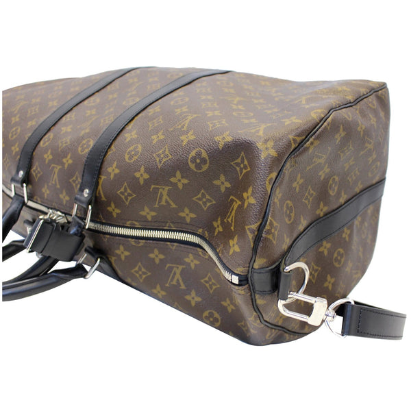 Louis Vuitton Keepall 55 Bandouliere Travel Bag - left view