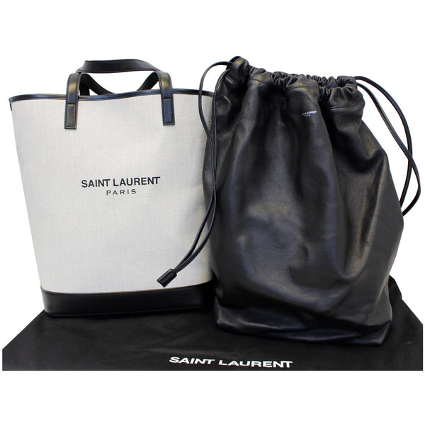Yves Saint Laurent Teddy Drawstring Tote bag - full pack