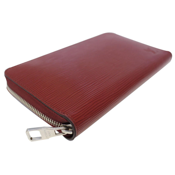 Louis Vuitton Zippy Wallet Organizer Epi Leather Red - authentic
