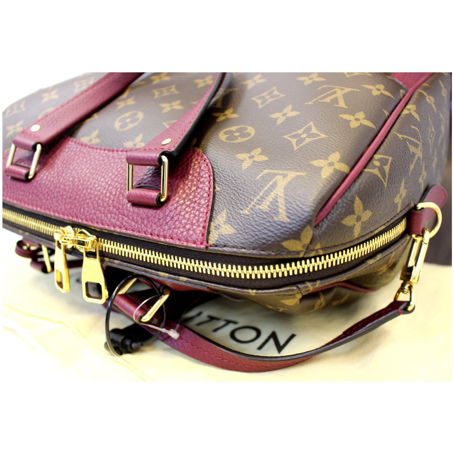17bc70e8fb13 LOUIS VUITTON Retiro NM Aurore Monogram Canvas Shoulder Bag-US