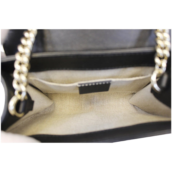 Gucci Shoulder Bag Emily Mini Micro GG Guccissima - interior