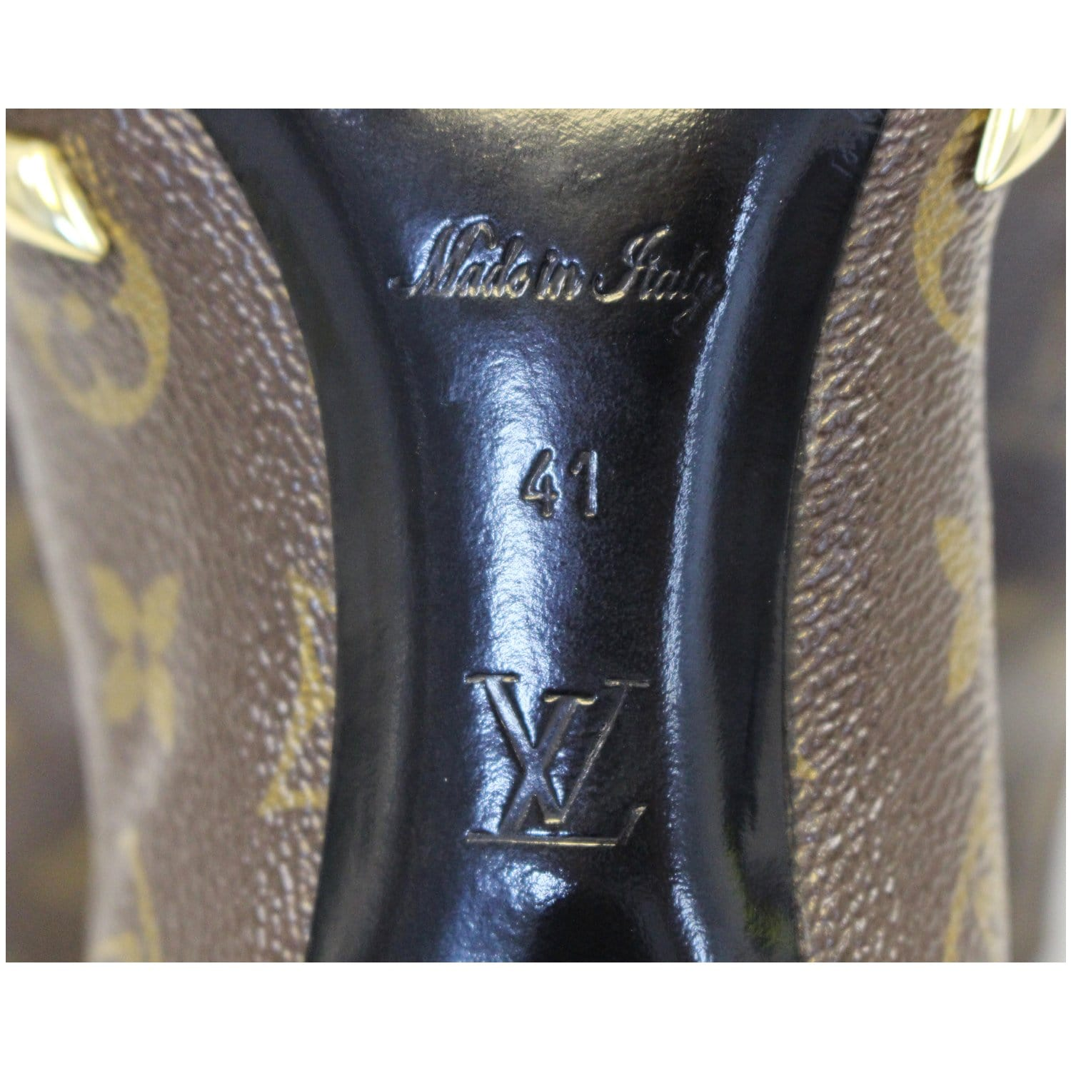 46c6a2b1cd5d LOUIS VUITTON Monogram Canvas El Dorado Ankle Booties Size 41-US