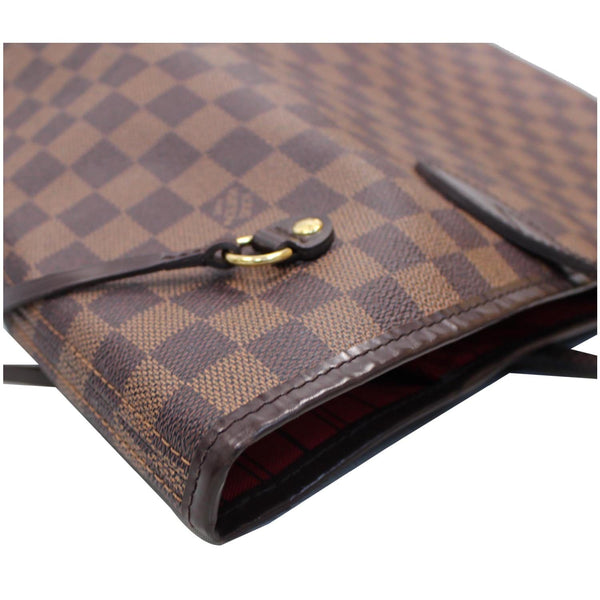 Louis Vuitton Neverfull MM Damier Ebene Bag Brown side preview