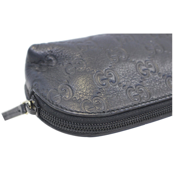 GUCCI Guccissima Cosmetic Case Bag Black 272367