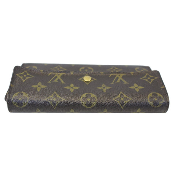 louis Vuitton Porte Tresor International Wallet - bottom view