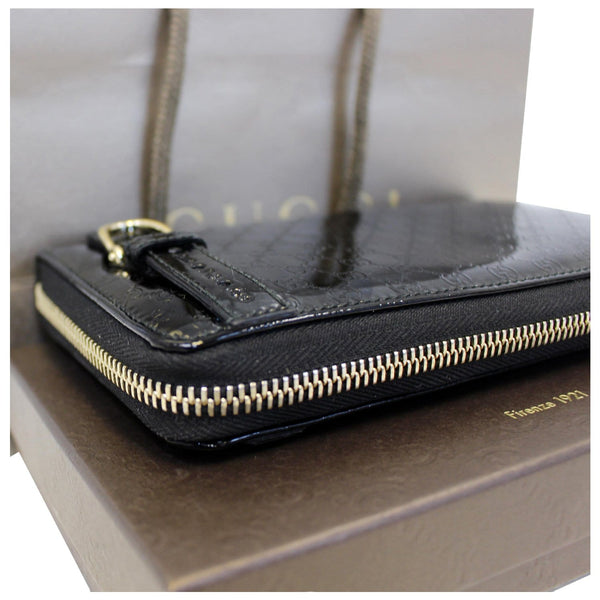 Gucci Wallet Nice Microguccissima Patent Leather in discount