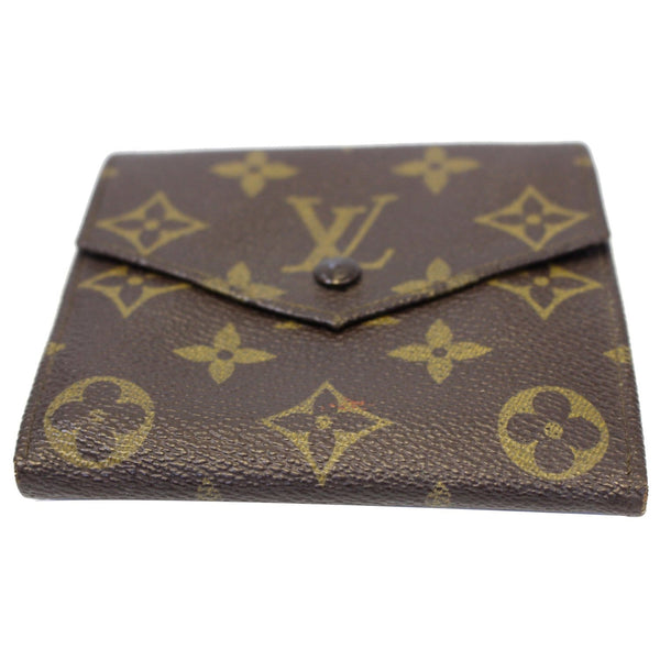 Louis Vuitton Wallet Monogram Canvas Vintage Flap - authentic