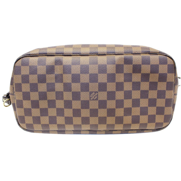 LOUIS VUITTON Damier Ebene Neverfull MM Brown Tote Bag-US