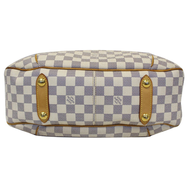 Louis Vuitton Galliera PM Damier Azur white - bottom view