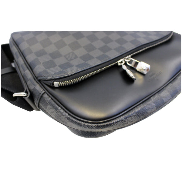 LOUIS VUITTON Dayton Reporter PM Damier Graphite Shoulder Bag-US