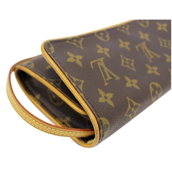 Louis Vuitton Pochette Twin Monogram Canvas Shoulder Bag long strap