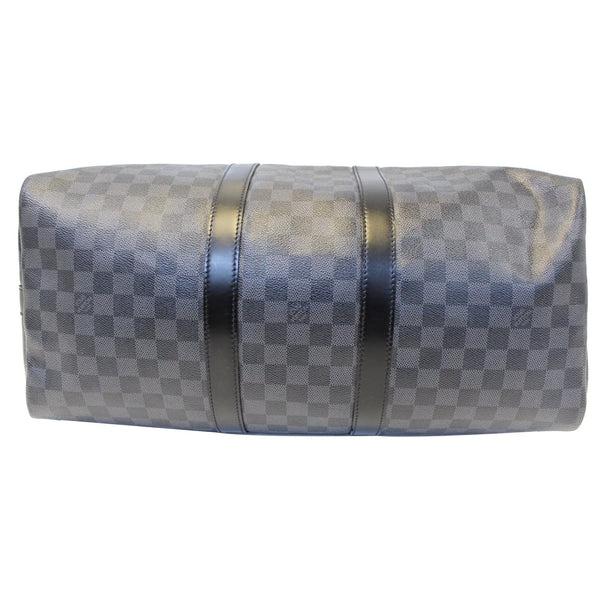 Louis Vuitton Keepall 45 Damier Bandouliere Travel Bag - leather