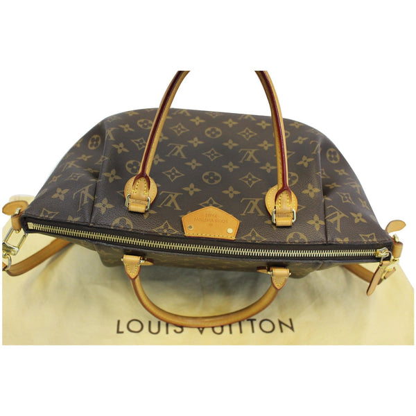 Lv Turenne MM Monogram Canvas Shoulder Bag Top View