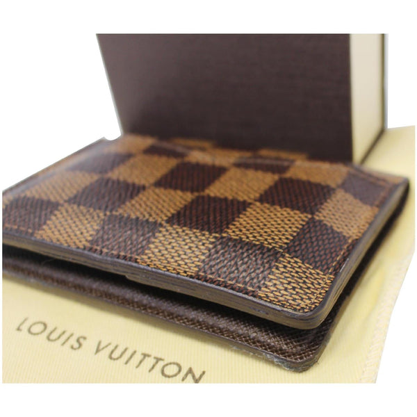 Louis Vuitton Card Case - Pocket Organizer Damier Card Holder brown