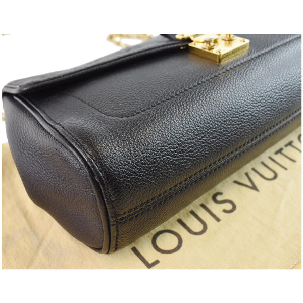 Louis Vuitton St Germain MM Bag Black bottom