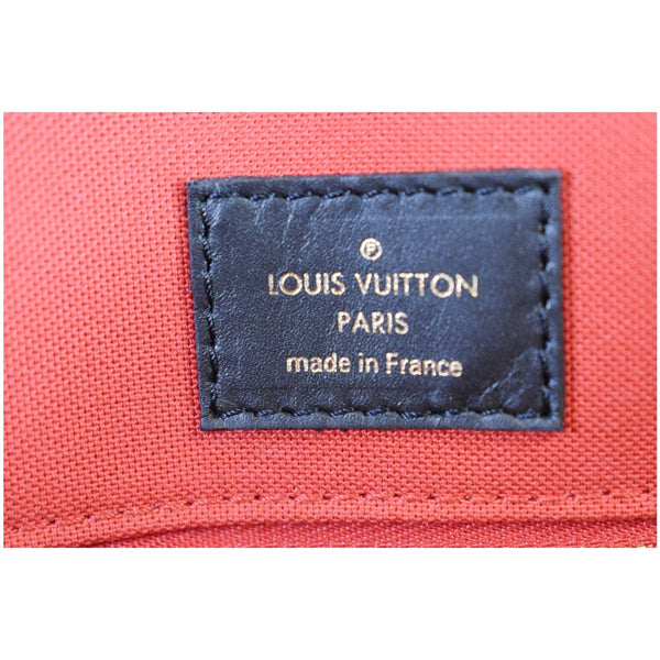 Louis Vuitton Onthego GM Reverse Monogram Canvas Bag - made in France]