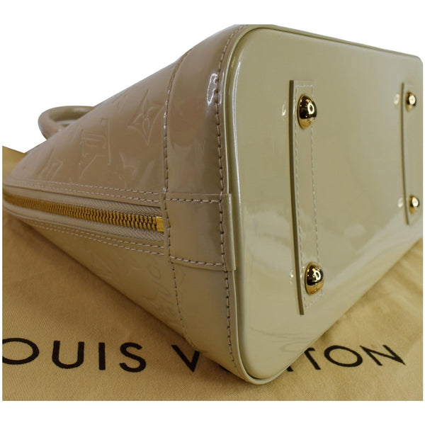 Louis Vuitton Alma PM Satchel Bag with padlock