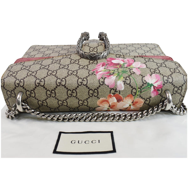 Gucci Dionysus Small GG Blooms Shoulder Bag- beige