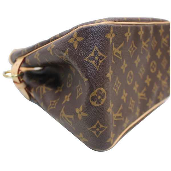 LOUIS VUITTON Batignolles Vertical Monogram Canvas Tote Bag Brown