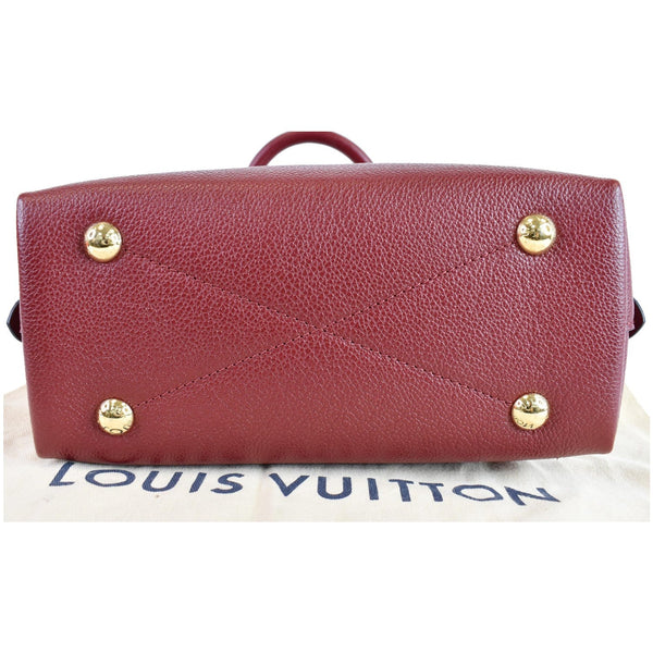 LOUIS VUITTON Neo Alma BB Monogram Empreinte Shoulder Bag Cherry Berry