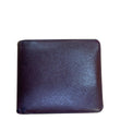LOUIS VUITTON Multiple Acajou Taiga Leather Bifold Wallet Brown