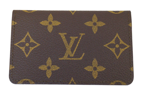 LOUIS VUITTON Monogram Canvas Business Card and Credit Card Case