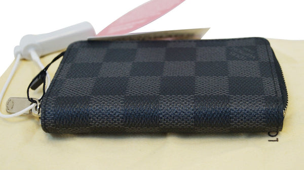 LOUIS VUITTON Damier Graphite Zippy Coin Purse