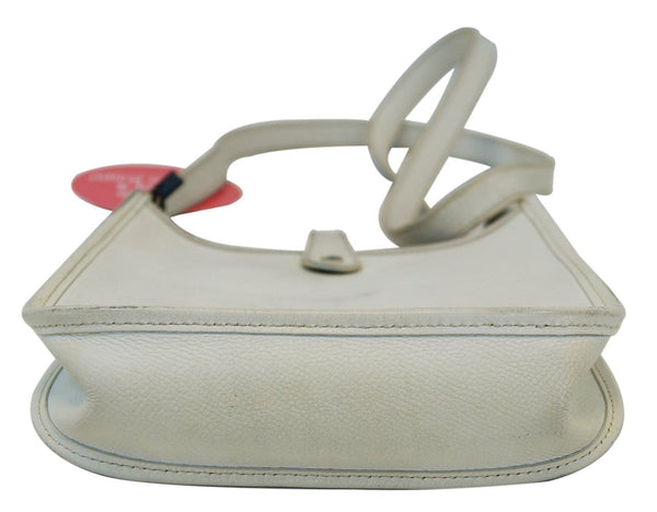 Hermes Evelyne TPM Veau Epsom White Shoulder Bag