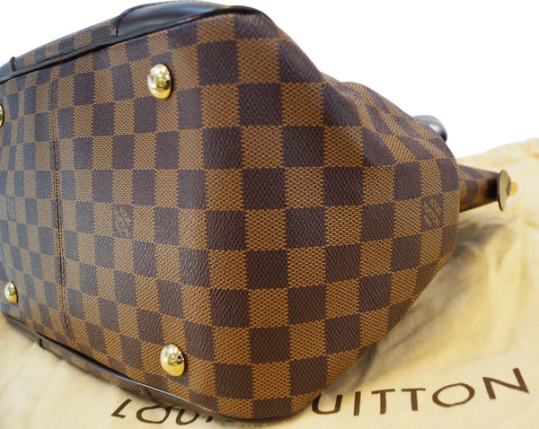 LOUIS VUITTON Verona MM Damier Ebene Shoulder Handbag