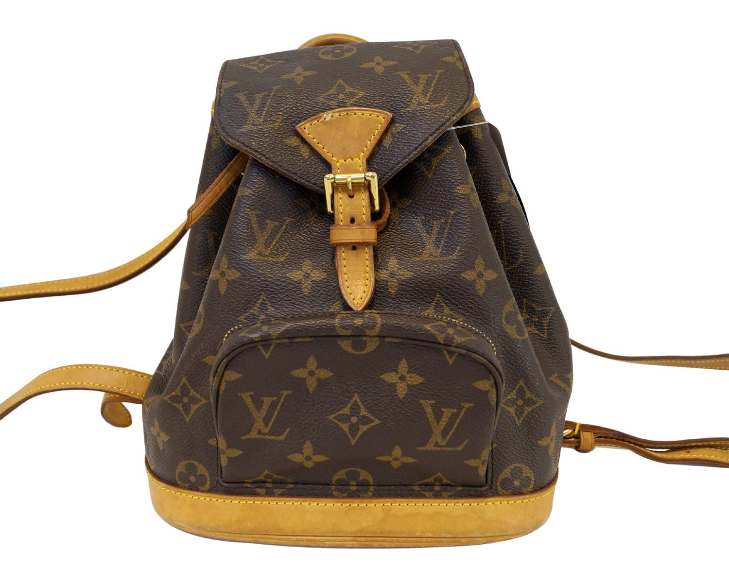 Authentic LOUIS VUITTON Monogram Mini Montsouris Backpack E3196 90da4526a6735