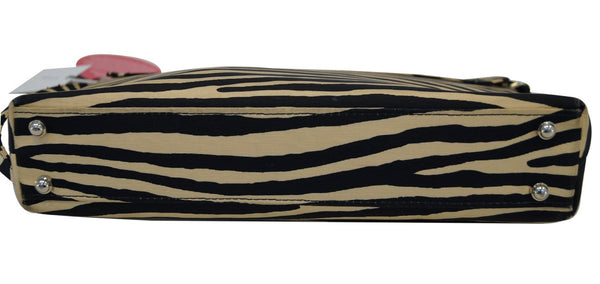 Kate Spade Shoulder Bag - Kate Spade Zebra Print Bag - side view