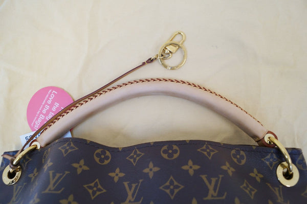 Authentic LOUIS VUITTON Monogram Canvas Artsy MM Shoulder Bag TT616