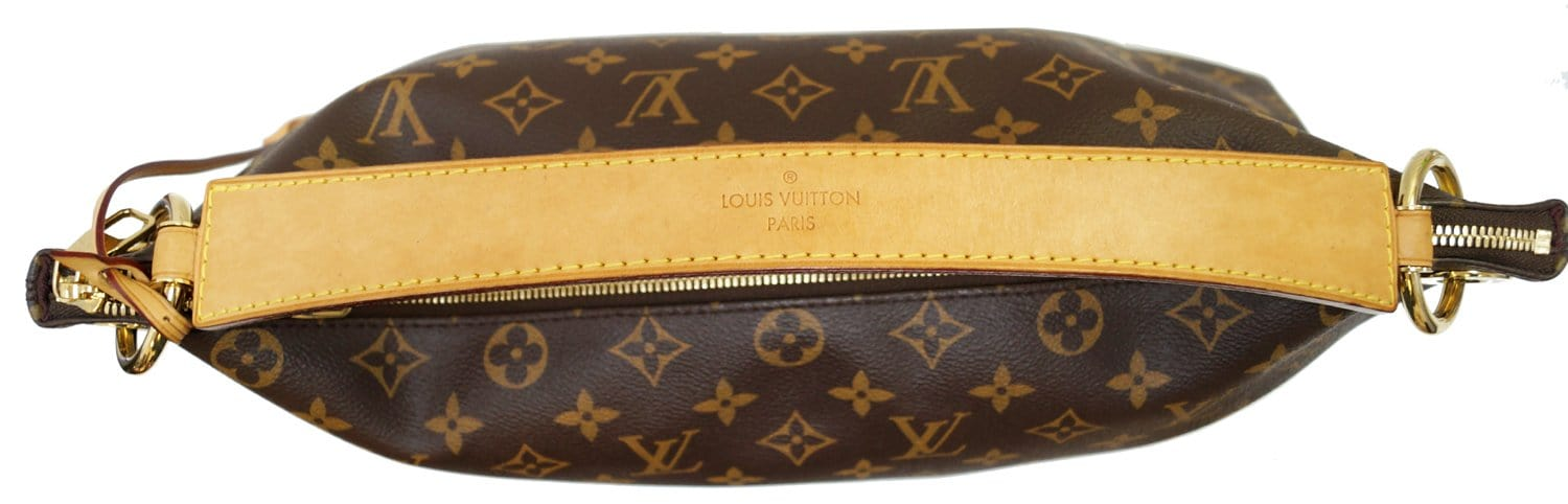 22fea5badb32e LOUIS VUITTON Berri MM Monogram Canvas Shoulder Bag