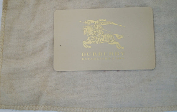 Burberry Necklace Adjustable - Brand Card