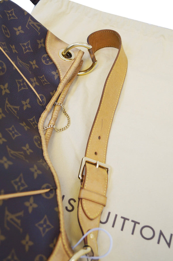 LOUIS VUITTON Monogram Galliera GM Shoulder Tote Handbag - 30% Off