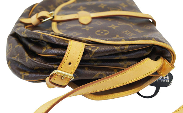 LOUIS VUITTON Monogram Canvas Saumur 30 Shoulder Bag
