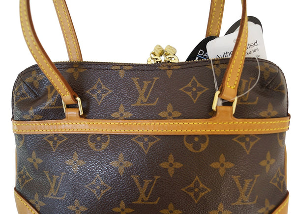 Authentic LOUIS VUITTON Monogram Mini Coussin Shoulder Bag E3168