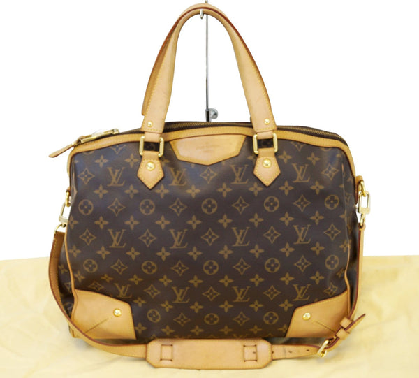 3f2700c83d9b Authentic LOUIS VUITTON Monogram Retiro GM 2 Way Shoulder Handbag E3158 ...