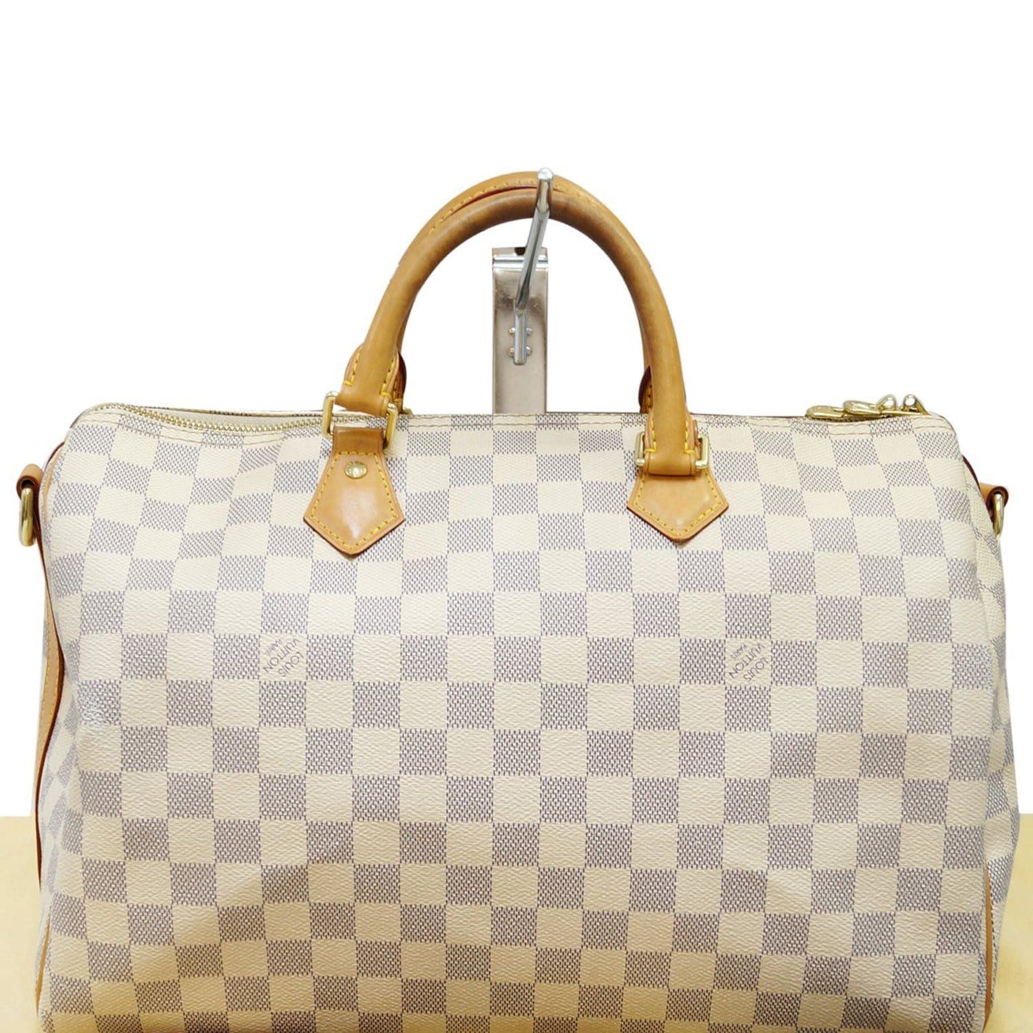 bb52070ecd2 LOUIS VUITTON Speedy 35 Damier Azur Bandouliere Shoulder Bag - 20% Off