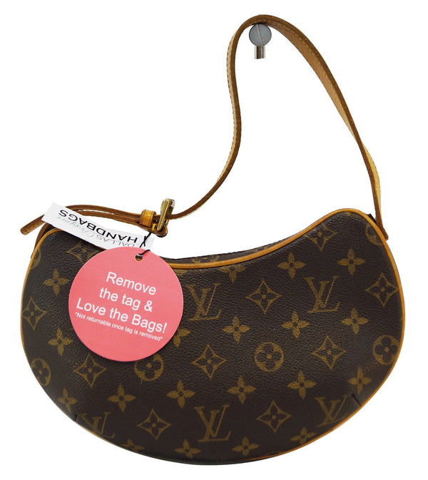 LOUIS VUITTON Monogram Pochette Croissant PM Shoulder Bag - Final Call