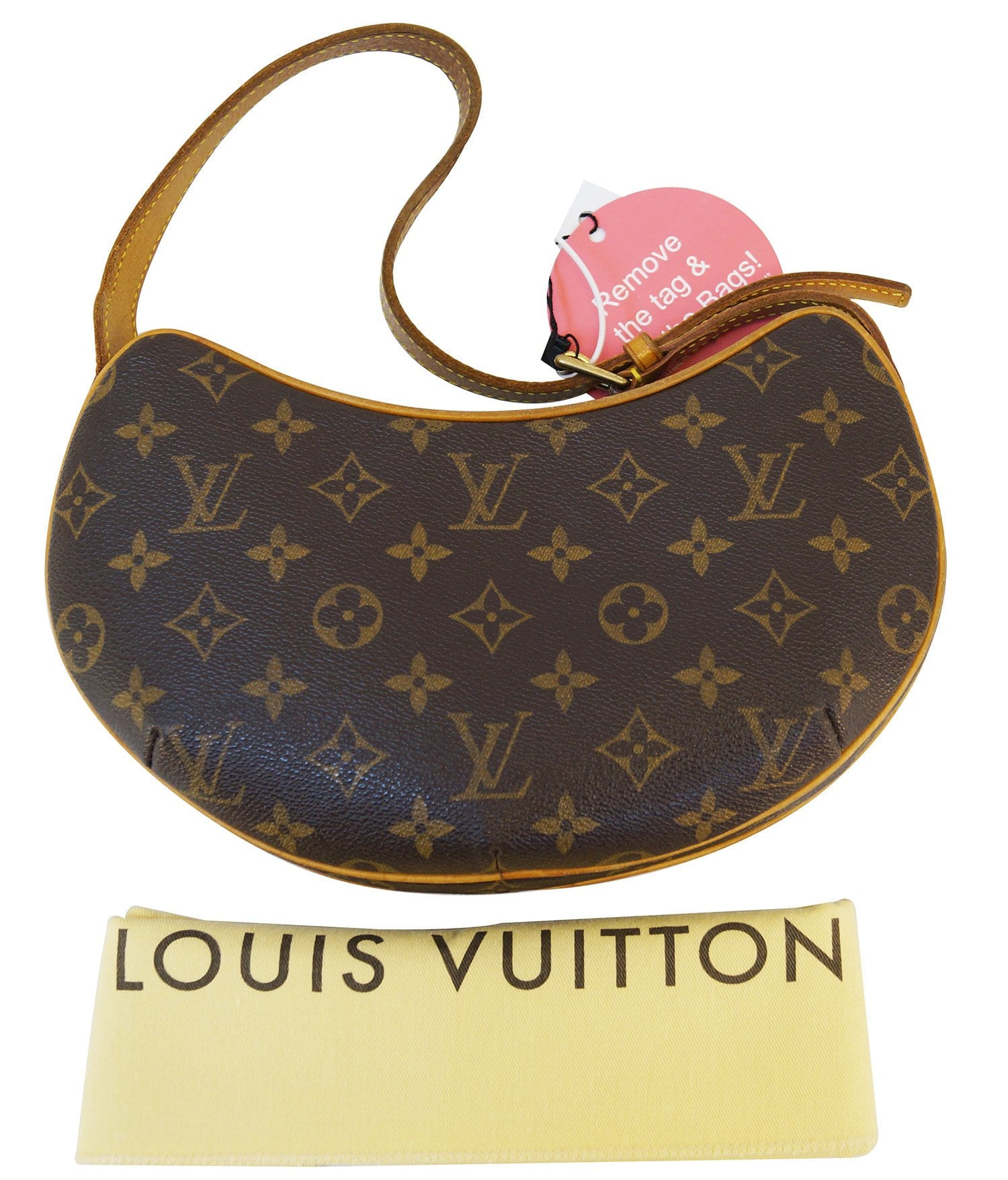 969792871988 LOUIS VUITTON Monogram Pochette Croissant PM Shoulder Bag - Final Call
