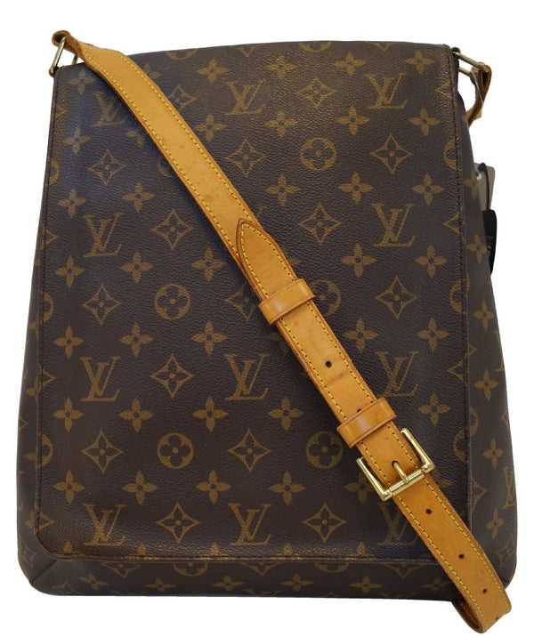 LOUIS VUITTON Monogram Canvas Musette Large Crossbody Bag