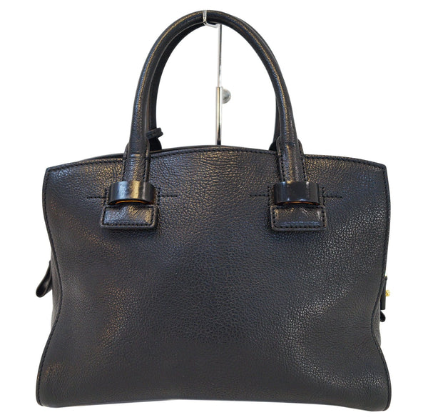 TOM FORD Black Charlotte Leather Small Tote Bag E3255