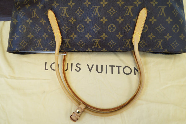 Authentic LOUIS VUITTON Monogram Raspail MM Shoulder Bag E3253