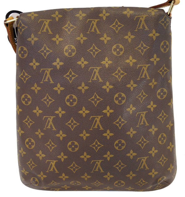 Authentic LOUIS VUITTON Musette Salsa GM Monogram Crossbody E3164