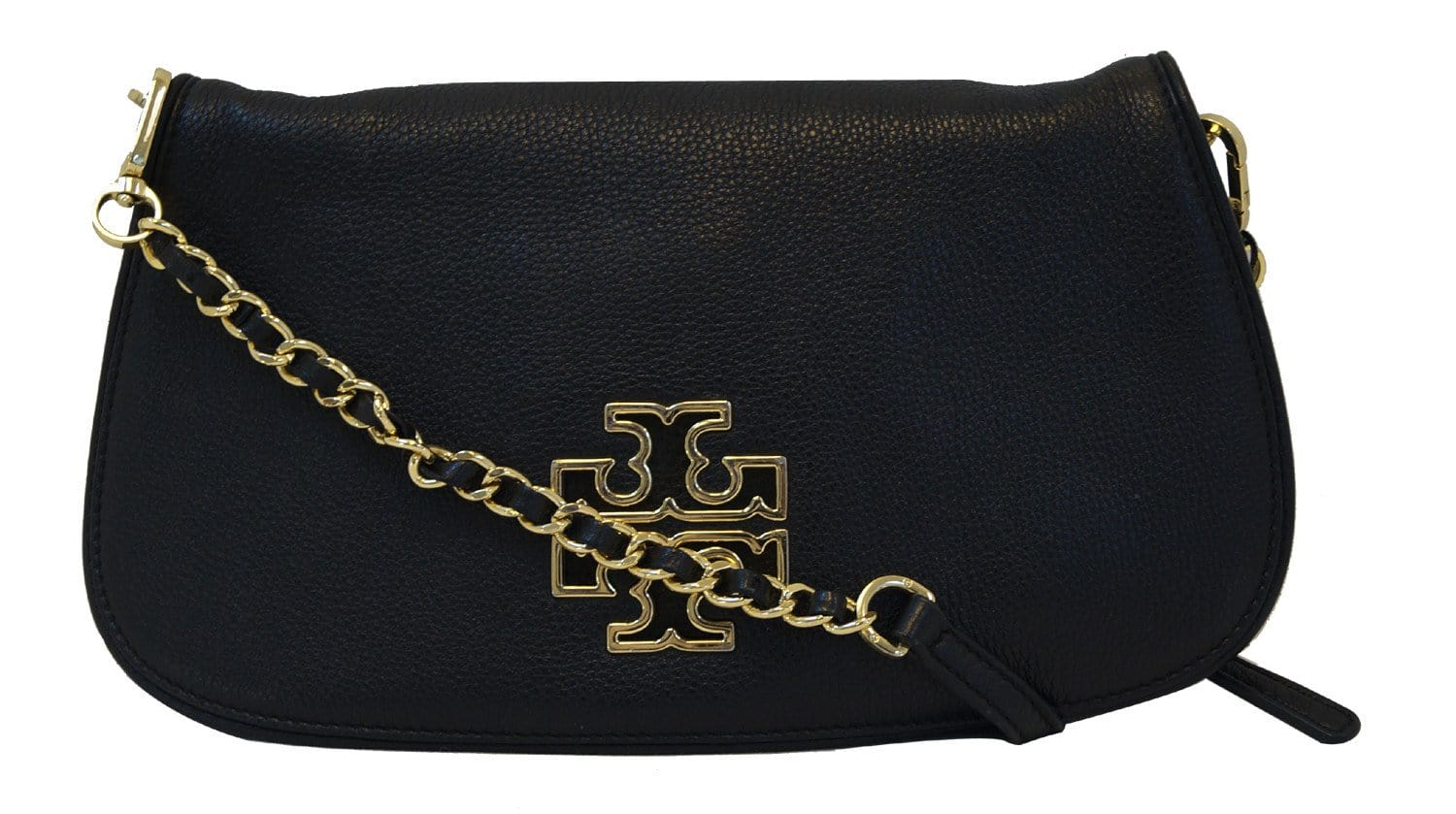 Authentic tory burch britten convertible black messenger crossbody bag authentic tory burch britten convertible black messenger crossbody bag tt933 buycottarizona Images