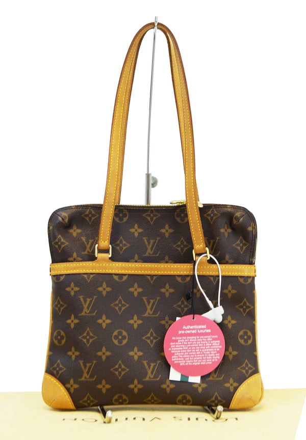 LOUIS VUITTON Monogram Coussin GM Shoulder Bag
