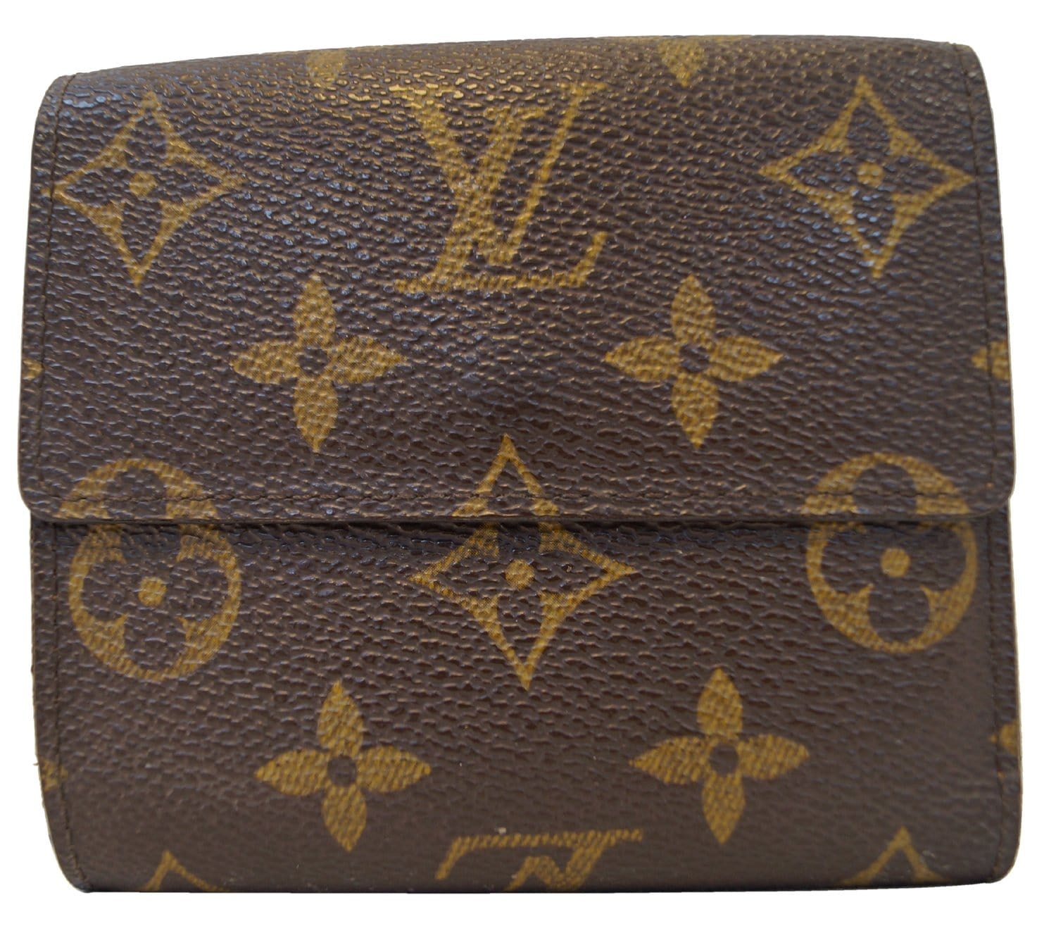 Authentic LOUIS VUITTON Monogram Canvas Portefeuille Elise Wallet TT14 c3be417c6d037