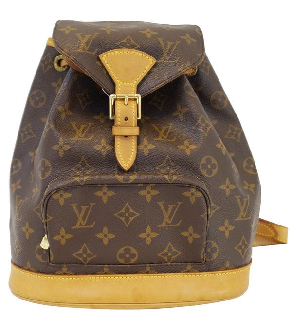 LOUIS VUITTON Backpack  Monogram Canvas Montsouris MM