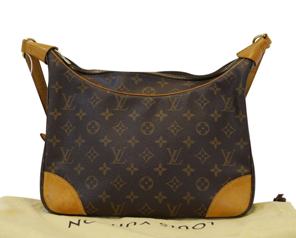 LOUIS VUITTON Monogram Canvas Boulongne Brown Shoulder Bag